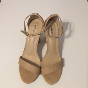 JusFab Nude shoes size US 11